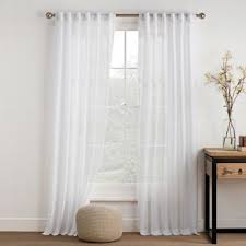 White Sheer Curtains Bed Bath And Beyond by Buy Sheer White Curtain From Bed Bath U0026 Beyond