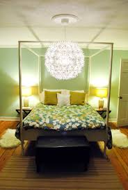 Hanging An Ikea Maskros Light In Our Bedroom