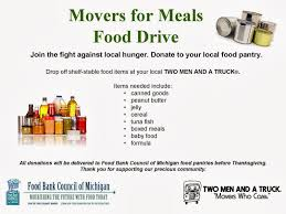 100 Two Men And A Truck Locations Lansing Movers Who Care Movers For Meals Collecting