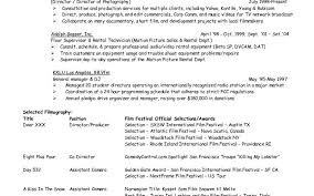 Resume Objective Examples Music Industry