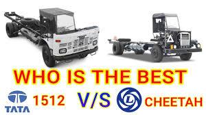 100 Cheetah Trucking Tata 1512 Vs Leyland CHEETAH Bus Chassis Comparison YouTube