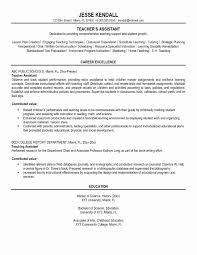 Teacher Objectives For Resumes New Resume Samples Nursery Teachers