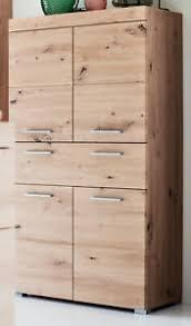 details zu badschrank midischrank eiche asteiche badezimmer kommode badmöbel amanda 73x132