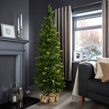 6ft Slim Christmas Tree 6ft pop up slim pre lit christmas tree departments diy at b u0026q