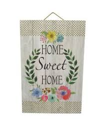 Wild Blooms Wall Decor Home Sweet Fern