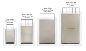 Pet Doors For Patio Screen Doors by Amazon Com Petsafe Dog And Cat Door Replacement Flap Large 10