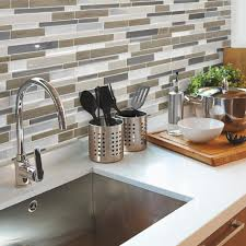 Smart Tiles Mosaik Multi by Smart Tiles Idaho 9 85 In W X 9 85 In H Decorative Mosaic Wall