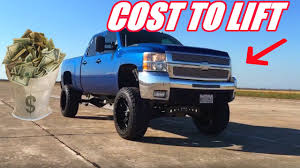 100 Where Can I Get My Truck Lifted The Cost To LFT A Silverado YouTube