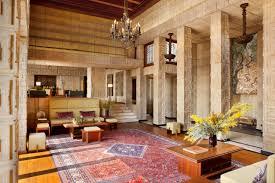 100 Frank Lloyd Wright Houses Interiors Billionaire Ron Burkle Lists Landmark For