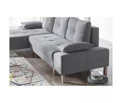 canape d angle bois canape d angle convertible sven ii gauche pieds bois enjoy gris