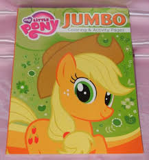 My Little Pony Applejack Coloring Book