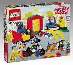 Mickey Mouse Bathroom Set Amazon by Amazon Com Lego Disney U0027s Mickey Mouse 4166 Mickey U0027s Car Garage