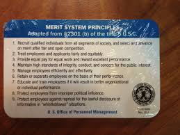 Federal Merit System Principles and Prohibited Personnel 25