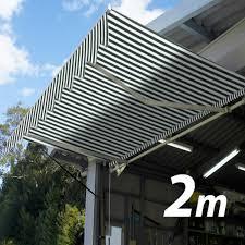 Mznet Awning Tent 2 M 15 M Bulging Stripe Green White