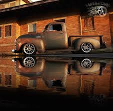 100 Slammed Truck 1953 Chevrolet C10 Hot Rod Street Rat Rod Chevy Pickup