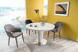 esstisch rund tisch designertisch luxus keramik glas circle küche esszimmer