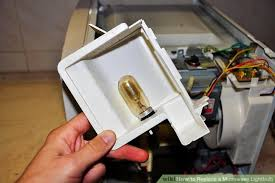 how to replace a microwave lightbulb 13 steps with pictures