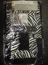 Pink Zebra Accessories For Bedroom by Purple And Black Zebra Print Bathroom Decor With Bathroom With