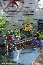 Rustic Garden Best Decor Images On Gardening Ideas And Outdoor Gardens