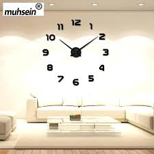 Wall Decor With Clocks New Arrival Clock Watch Acrylic Mirror Stickers