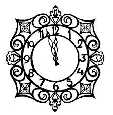Cinderella Clock Tower Coloring Pages Crokky