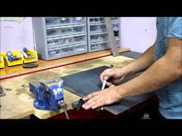 Decorative Sheet Metal Banding by How To Bend Sheet Metal Youtube