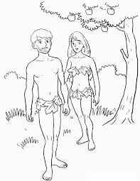 Ideas Of Adam And Eve Coloring Pages To Print For Download Resume