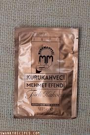 Famous Turkish Coffee Brand