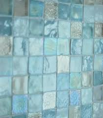 Beach Glass Bath Accessories by Sea Glass Tile Back Splash I Want This In My Master Bathroom