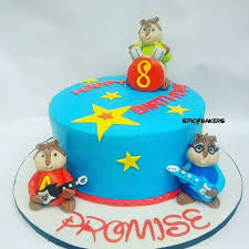 Alvin And The Chipmunks Cake Toppers by Spicybakers Spicybakers Confectioneries Instagram Photos And