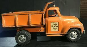100 Fagus Trucks Very Rare All Original 1956 Tonka State HiWay Dept 980 Dump Truck 13 Inch