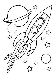 Coloring Page Angel Pages For Preschool Spaceship Here Small Collection Sheets Aspiring Astronaut House