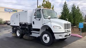 100 Cng Truck For Sale 2010 Freightliner Johnston MS350 CNG Broom Street Sweeper