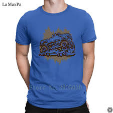 100 Monster Truck T Shirts Printed New Fashion Slogan Shirt For Men Crush Stunt