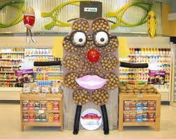 Ernest Junaks Creative Display At Publix Supermarket In Evans GA Earned Fifth Place Among Stores With 10 Cash Registers
