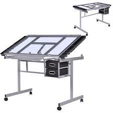 bureau a dessin table à dessin inclinable table bureau d architecte table en verre à