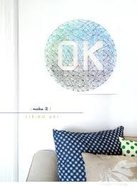 Wall Art For Teenagers String Projects Cool Fun And Easy Letters 10 Totally