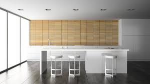 Modern White Kitchen Interior 3d Rendering Stockfoto Und Interior Of A Modern Design Kitchen In 3d Rendering 2073909