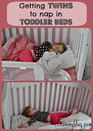 Getting Twins to Nap in Toddler Beds