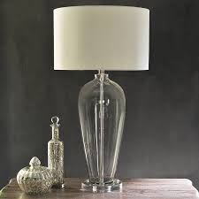 Fillable Glass Lamp Base by Glass Base Table Lamps Canada Glass Ball Table Lamp Cream Plus