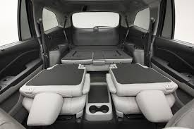 2015 Dodge Durango Captains Chairs by 2016 Honda Pilot First Look Motor Trend