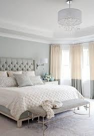 chambre poudré rideau bleu poudre rideaux blancs transparents nigststand carré