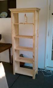 this bookcase is made from 2x12 boards and can easily be built to