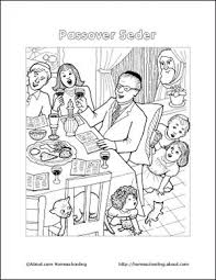 Passover Printables Coloring Page