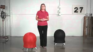 Gaiam Balance Ball Chair Replacement Ball by Safco Zenergy Ball Chairs Youtube