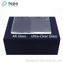 Non Reflective Anti Glare Tempered Ar Glass AR TP