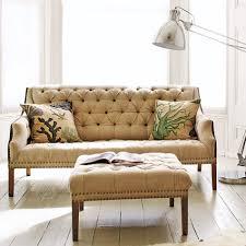 Ava Velvet Tufted Sleeper Sofa Uk by Graham And Green Uk Bath Button Back 3 Seater Sofa Raw