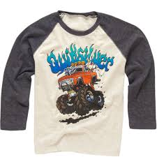 100 Monster Truck Shirts Quiksilver Kids Shirt Free Shipping On All Orders