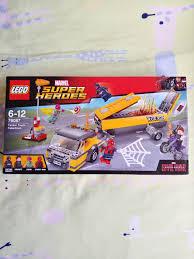 100 Lego Tanker Truck BNIB 76067 Takedown Rare Set Toys Games