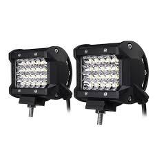 100 Work Lights For Trucks 4inch Led Work Light Bar Spot Beam Fog Lamp 1030v 72w White 2pcs